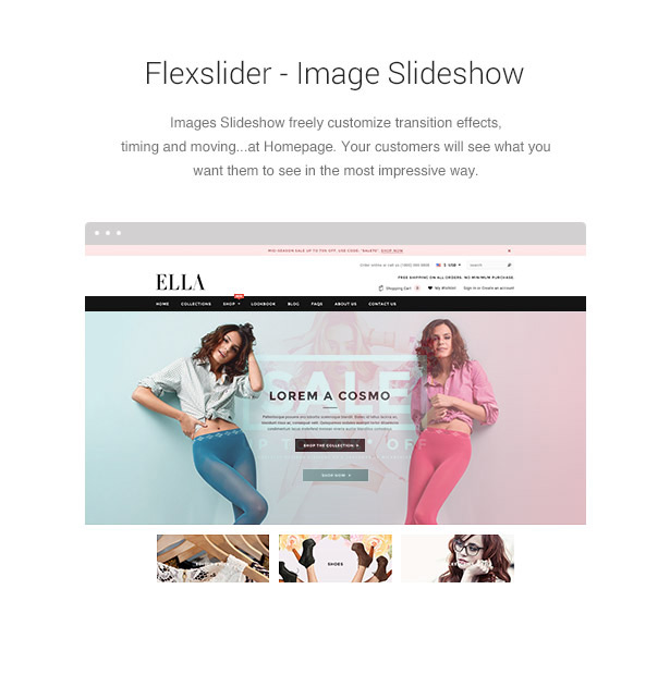 ELLA Theme Features