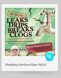Plumbing Services Flyer Vol.02
