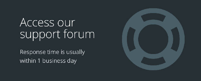 Stack support forum