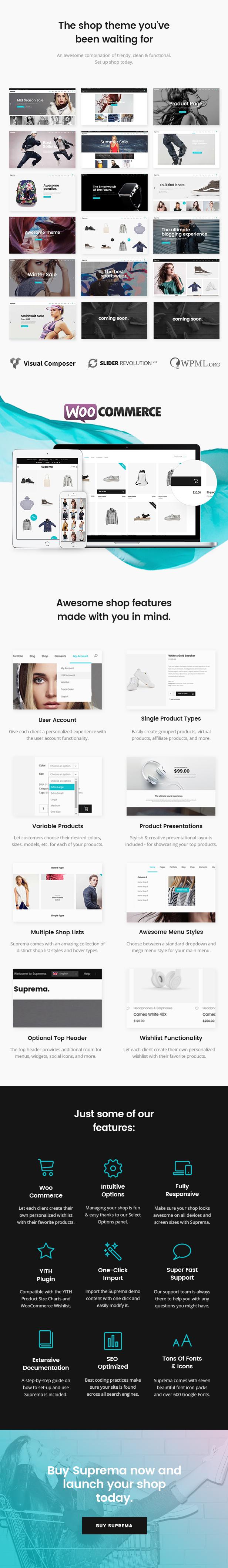 Suprema - Multipurpose eCommerce Theme - 1
