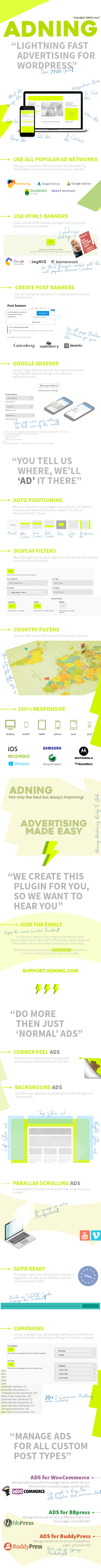 Adning (formerly WP PRO Advertising System)