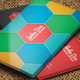 Flat Business Card V-02 - 83