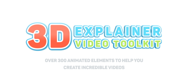 3D Characters Explainer Toolkit - 1