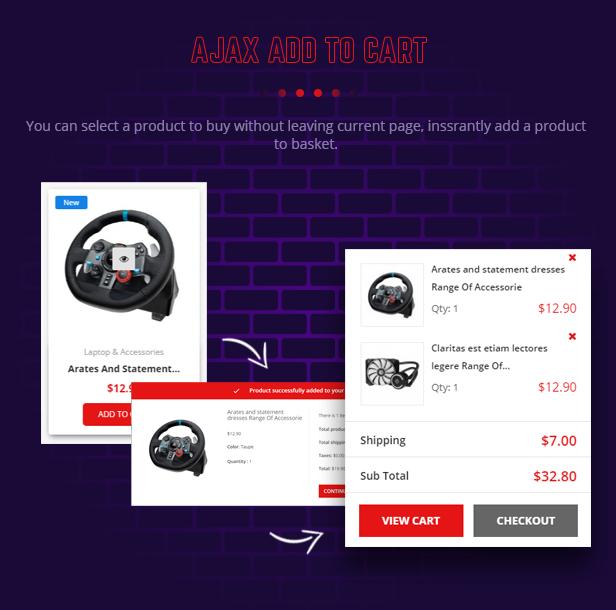 Gameshop - Responsive PrestaShop Shopping Themes