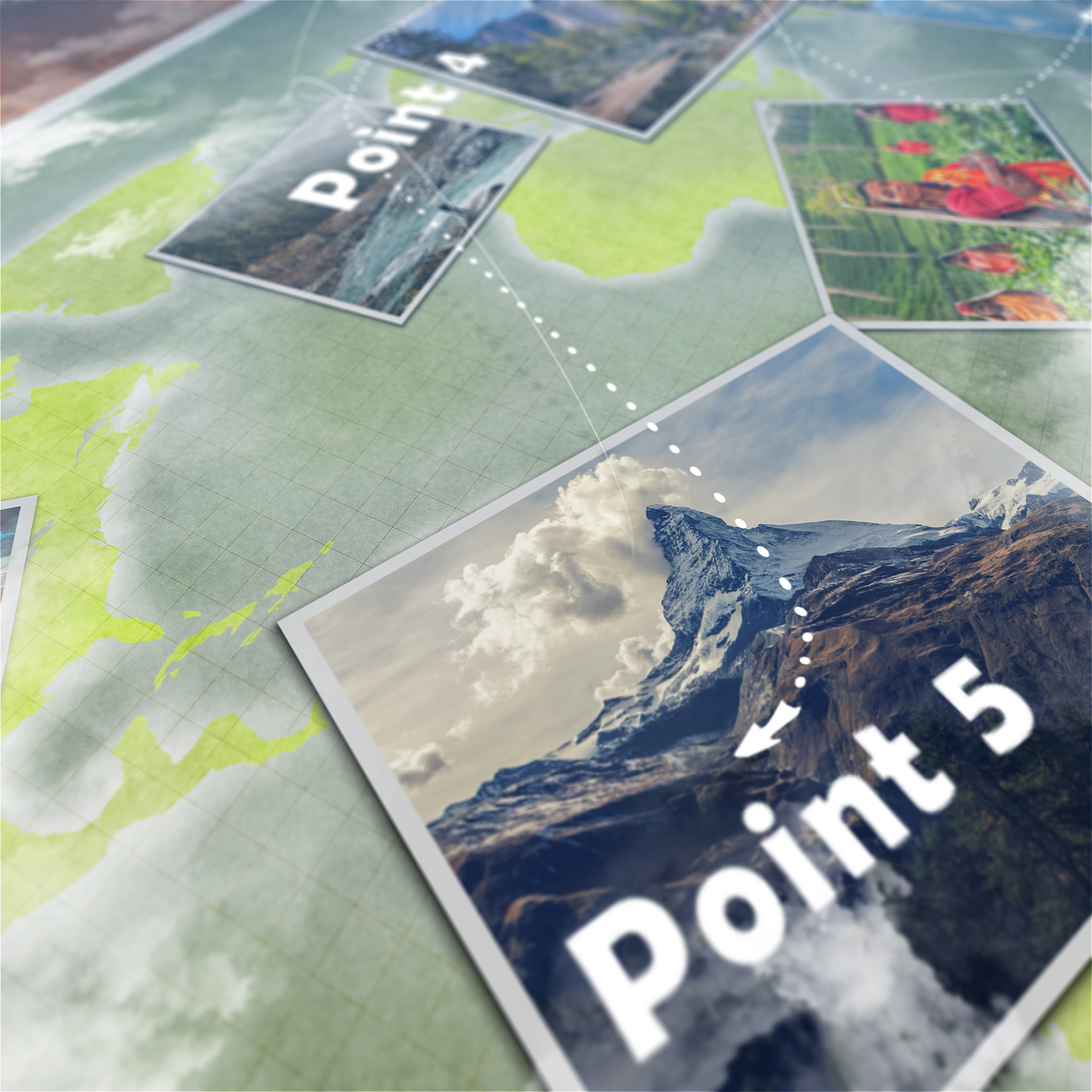 Animated map path v3 by victorsmith videohive add effect of the clouds gumiabroncs Images