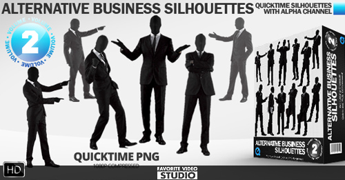 Alternative Business Silhouettes (Vol 2)