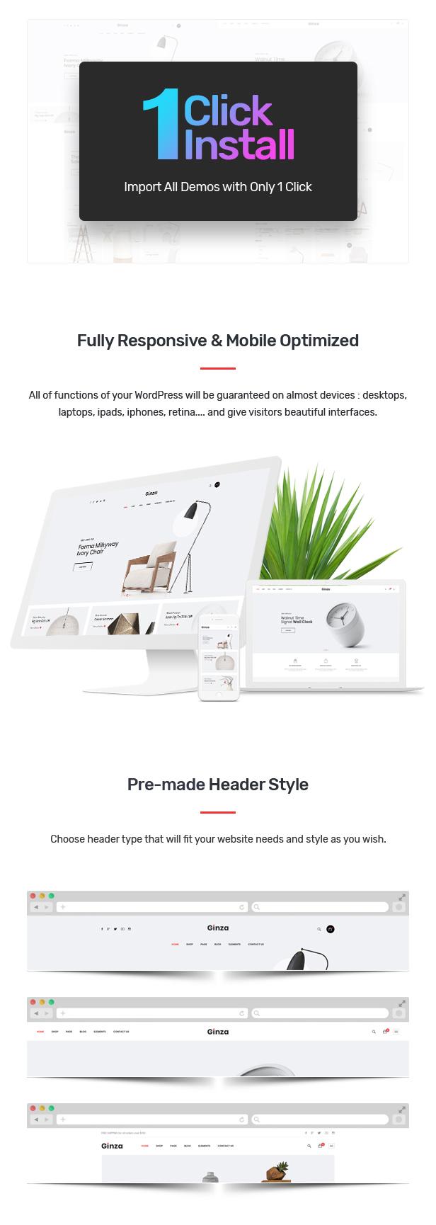 Ginza - Furniture Theme for WooCommerce WordPress 25