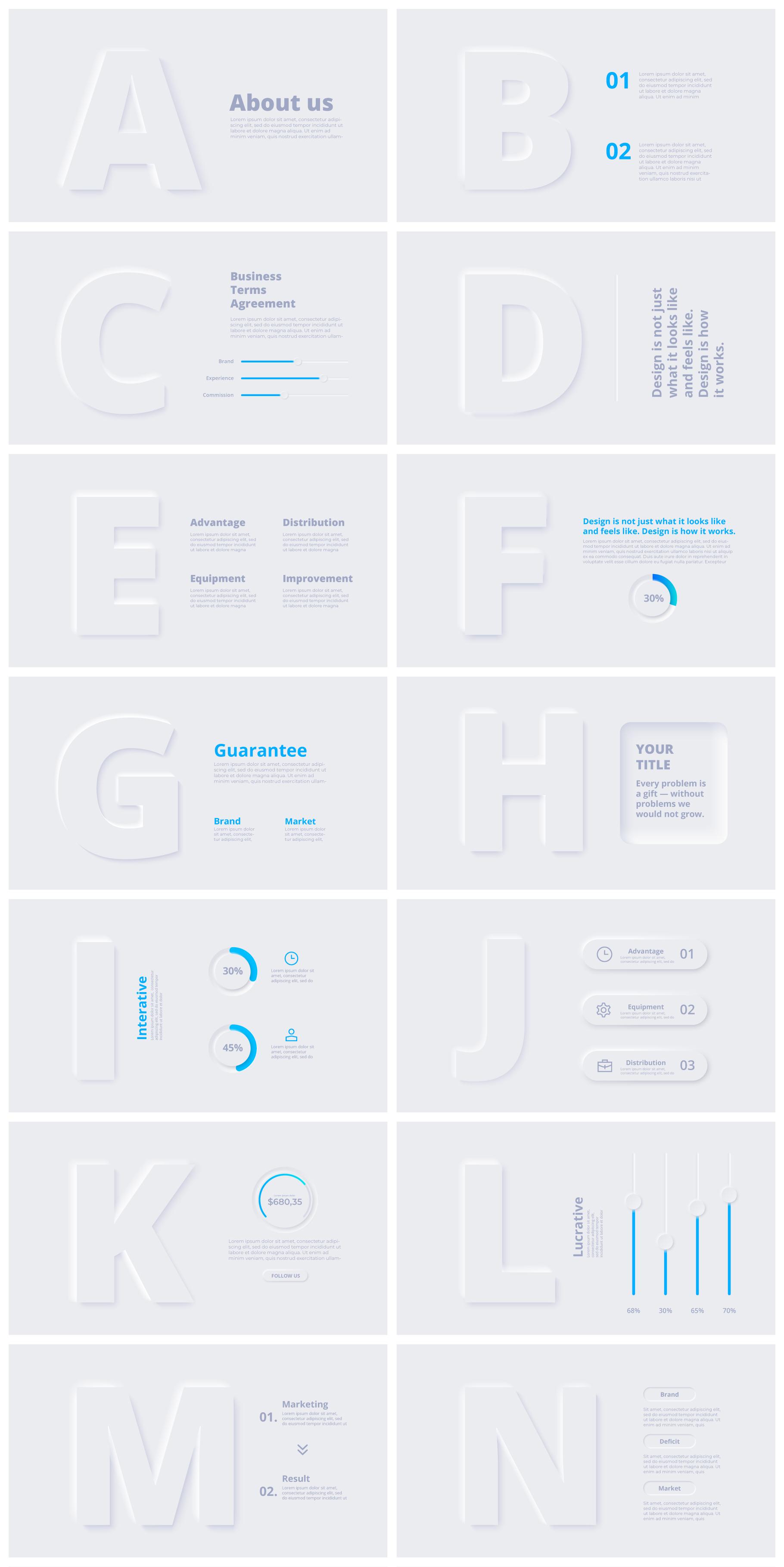 Multipurpose Infographics PowerPoint Templates v.5.0 - 58