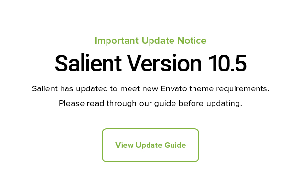 Salient - Responsive Multi-Purpose Theme by ThemeNectar | ThemeForest