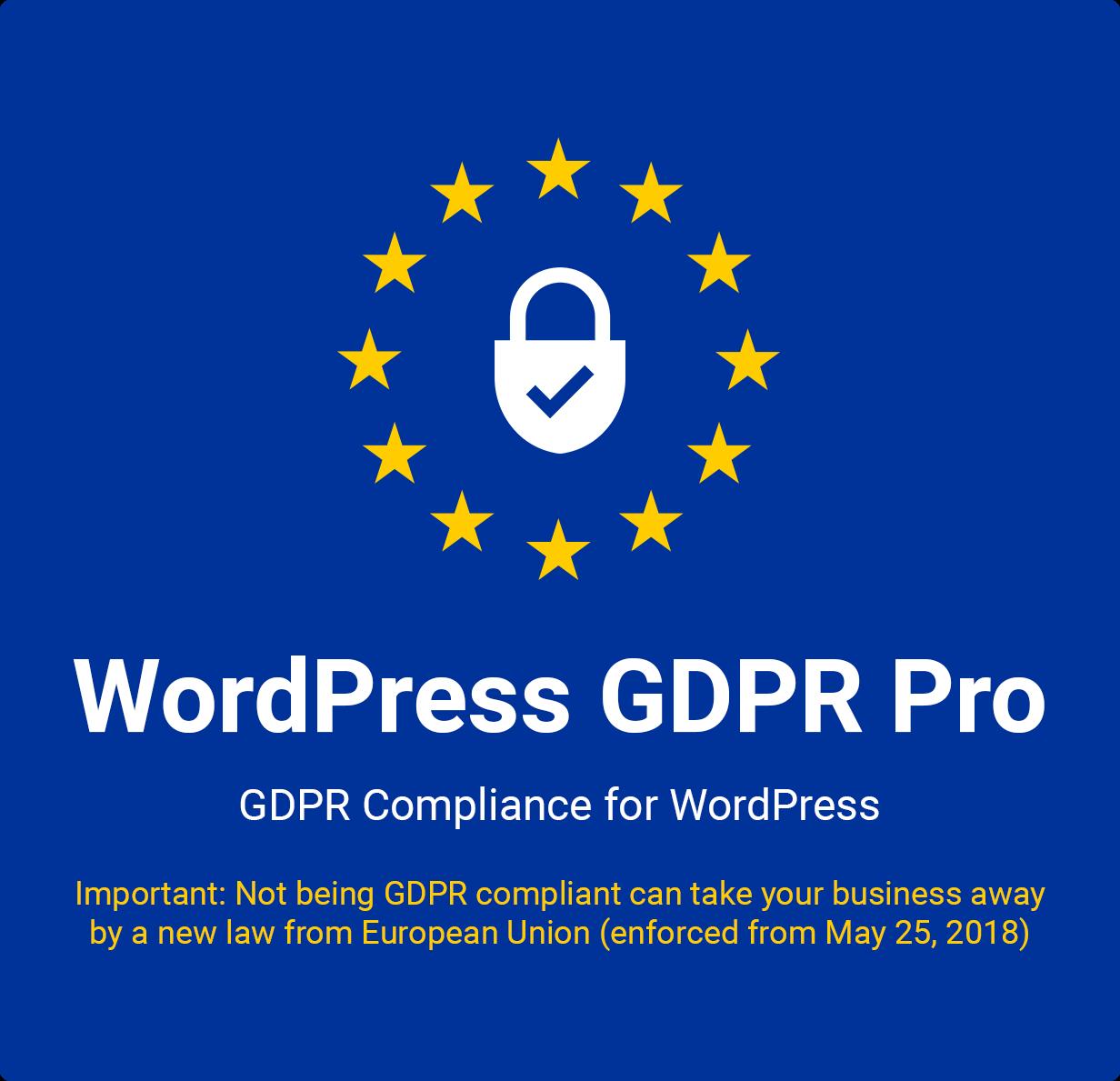 WordPress GDPR + CCPA + DPA Compliance 2021 - 2