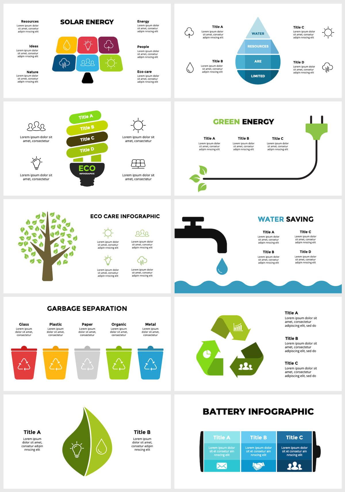 Huge Infographics Bundle! Lifetime Updates! PowerPoint, Photoshop, Illustrator. - 46