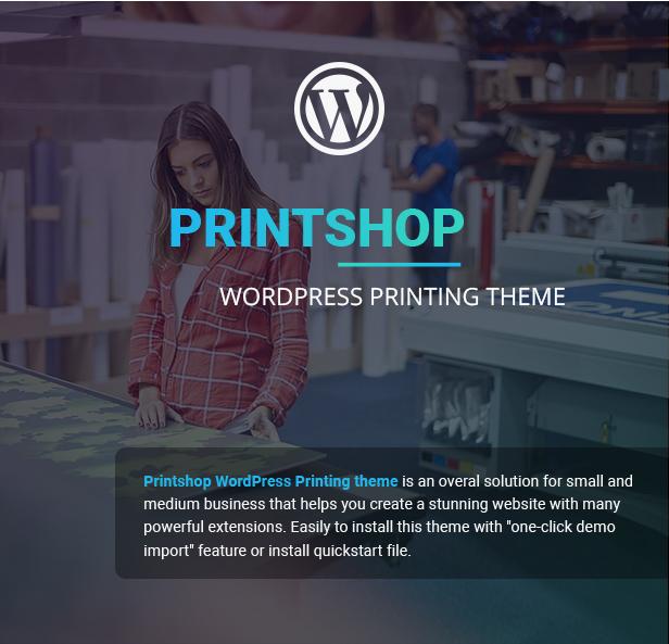 Printshop - WordPress Responsive Printing Theme - 7