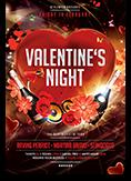Valentines Night Party Flyer