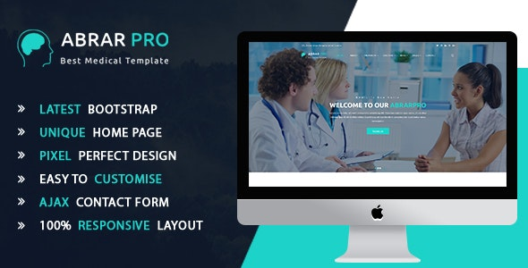 AbrarPro - Health And Medical HTML5 Template