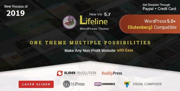 Lifeline - NGO, Fund Raising and Charity WordPress Theme for Charity  Foundation and Organization