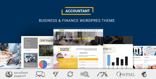 Accountant WP - Business & Finance Theme - Business Corporate