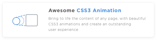 Profi WP CSS3 Animation