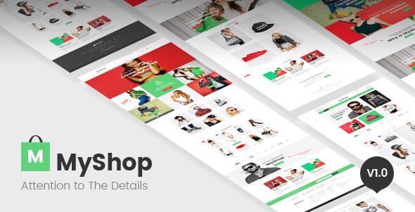 MyShop - amazing shopify theme