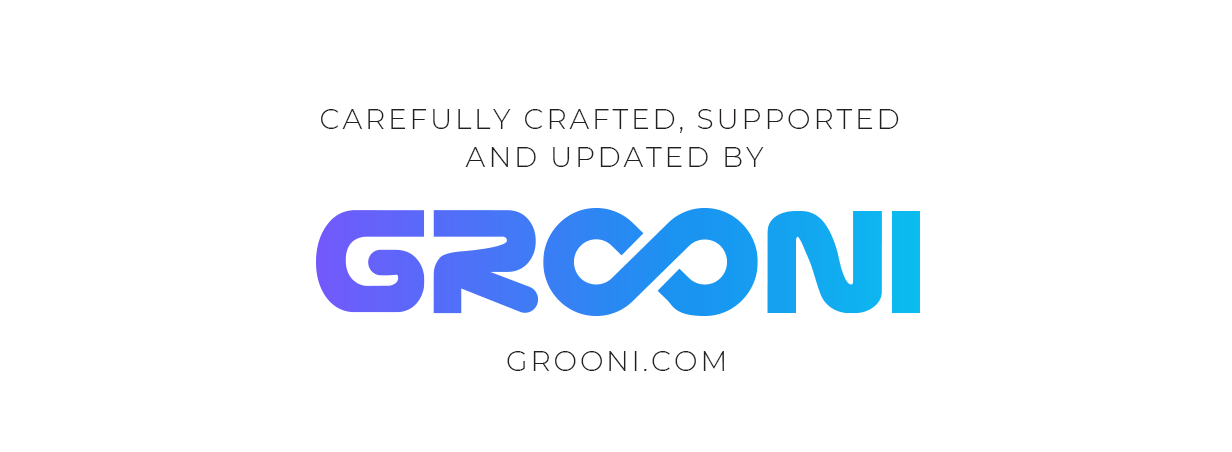 Grooni o autor Crane Theme