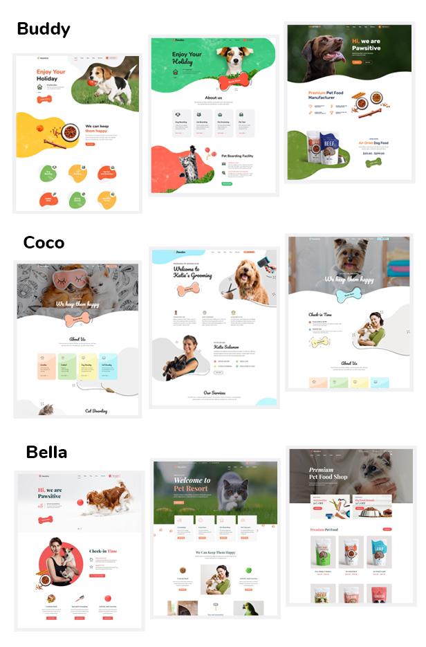 Pawsitive-可爱的宠物护理/宠物店网站wordpress主题[更至v1.1.0]插图2