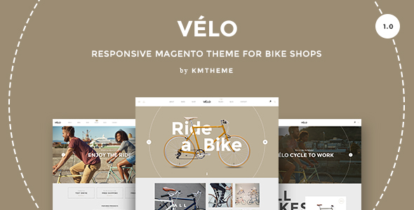 Velo - Responsive Magento Theme for Bike Shops