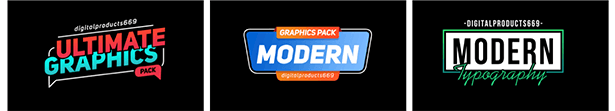 The Ultimate Graphics Pack - Final Cut Pro X & Apple Motion - 113
