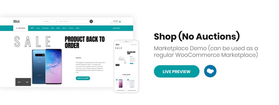 iBid - Multi Vendor Auctions WooCommerce Theme - 6