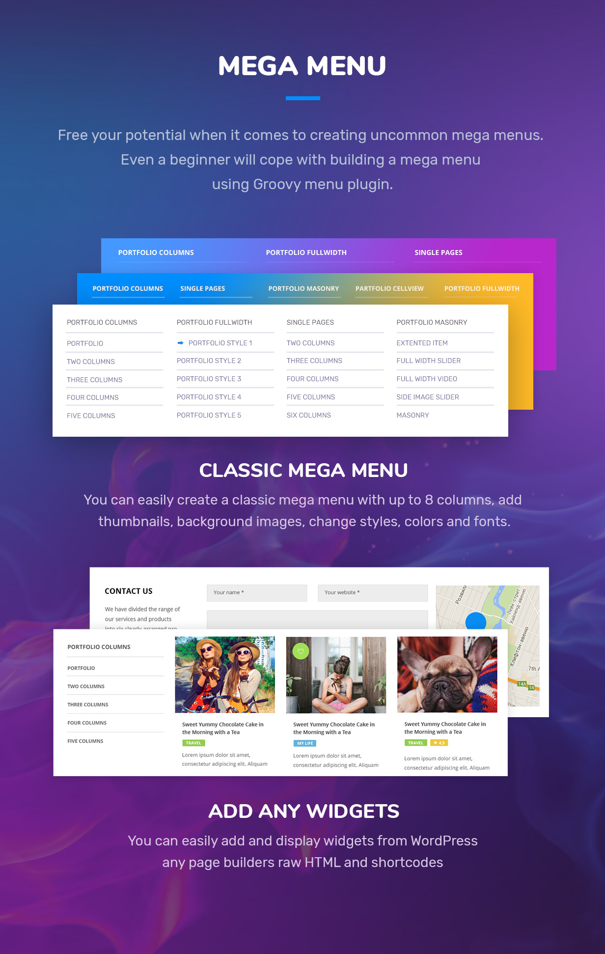 Groovy Mega Menu-WordPress大型超级菜单插件[更至v2.4.8]插图12