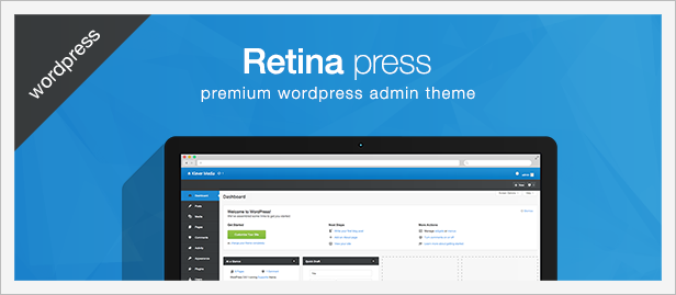 Retina Press - Premium Wordpress Admin Theme