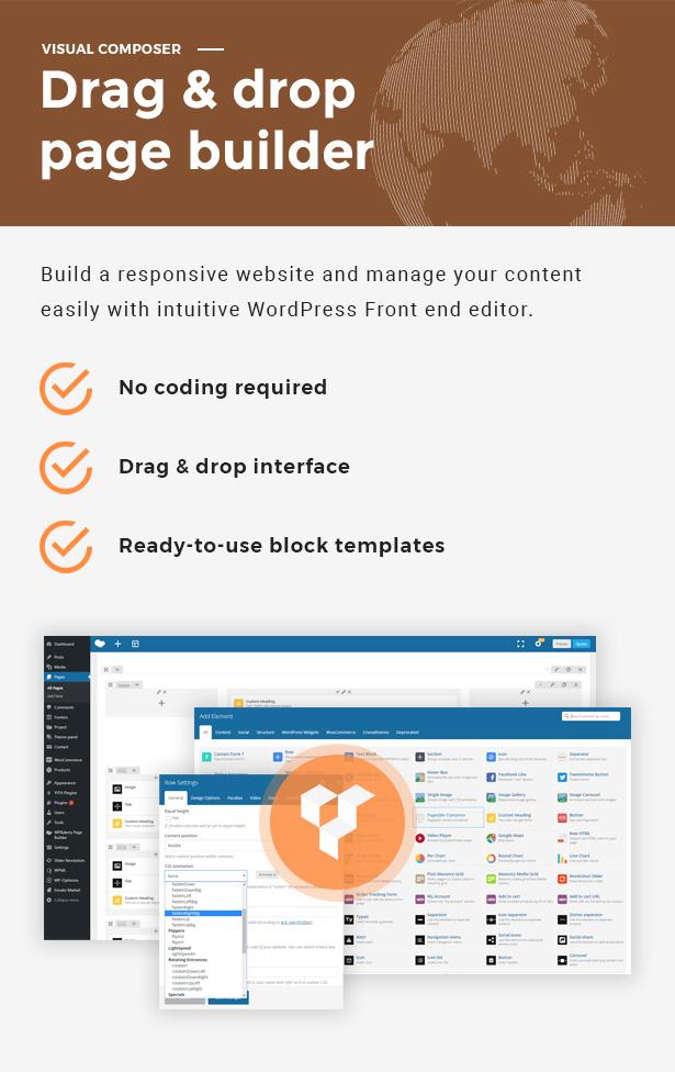 Globax - Logistics WordPress Theme + Woocommerce - 6