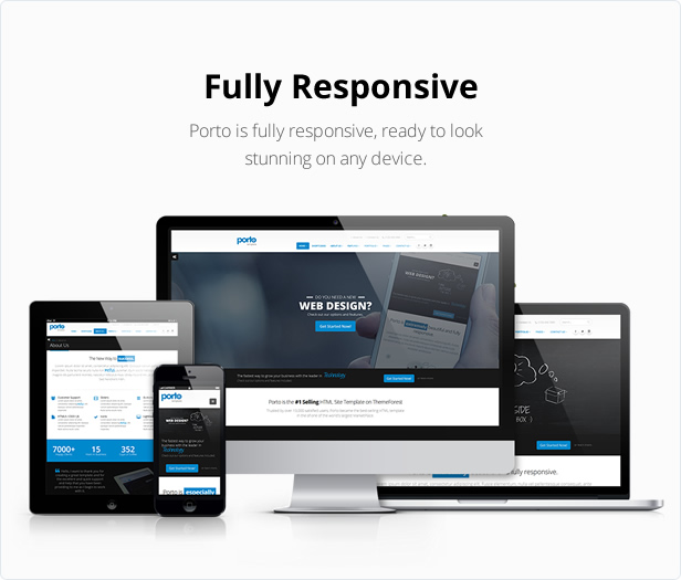 Porto responsive html5 template by okler themeforest for Getbootstrap com templates