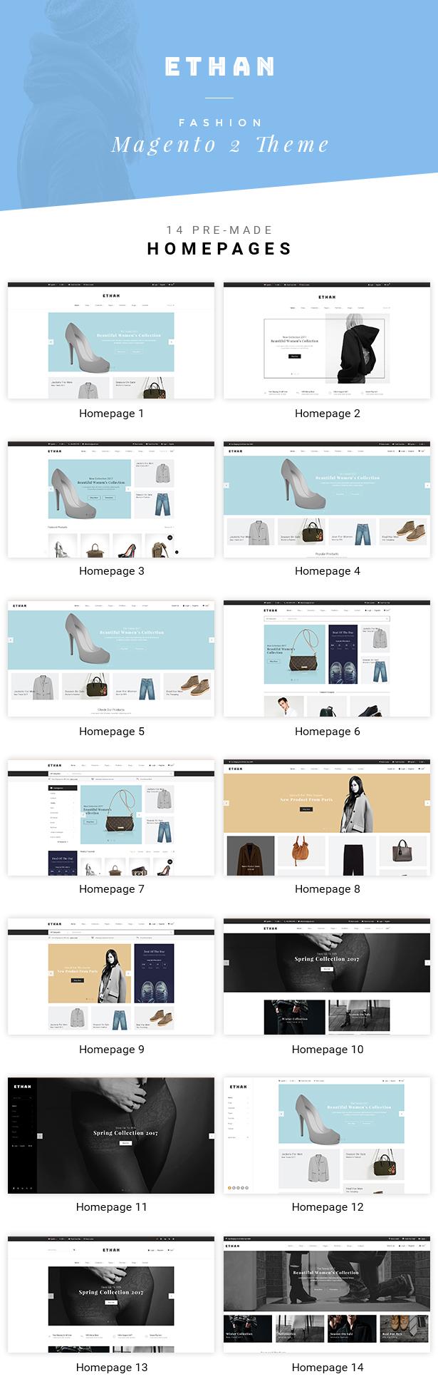 ETHAN - Luxury Fashion Magento 2 and 1 Theme - 5