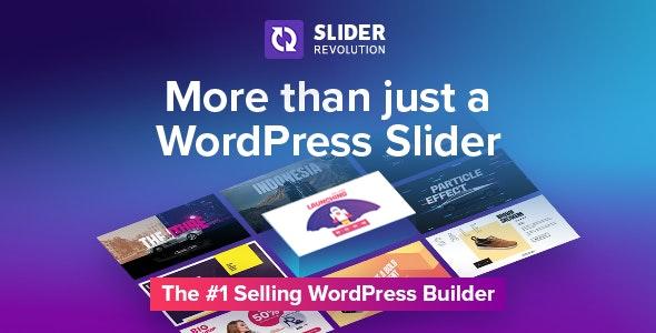Slider Revolution Responsive WordPress Plugin - CodeCanyon Item for Sale