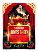 Ladies Night Party Flyer - 138