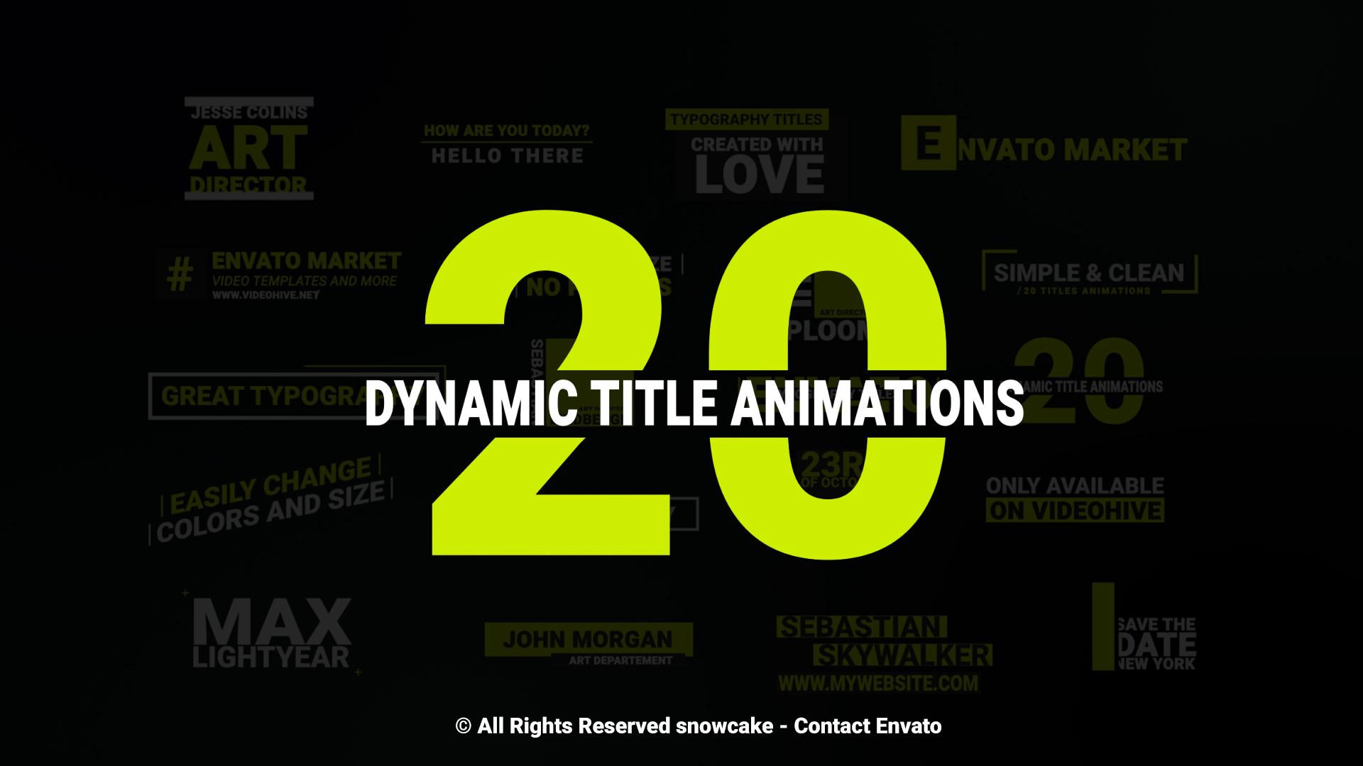 Logo 4K Animation Pack - 2