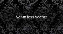 Seamless Snowflakes Texture - 1