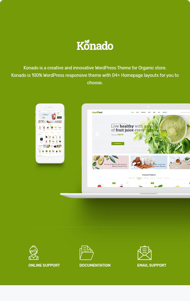 Konado - Organic Theme for WooCommerce WordPress 22