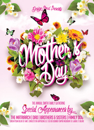 Design Cloud: Mother's Day Flyer Template