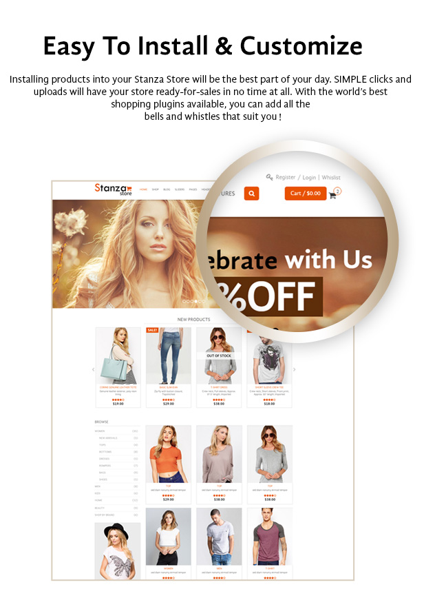 Stanza Store – Responsive eCommerce HTML 5 Template - 6