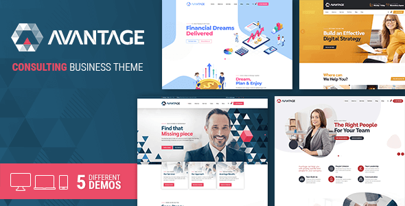 Avantage - Consulting WordPress Theme - Business Corporate