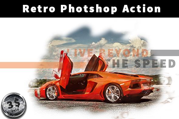 PolyArt Photoshop Action - 3