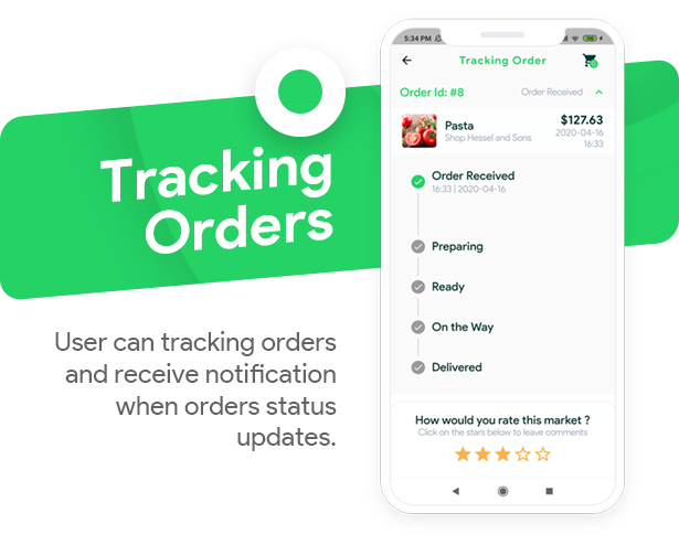 Grocery, Food, Pharmacy, Store Delivery Mobile App with Admin Panel - 7