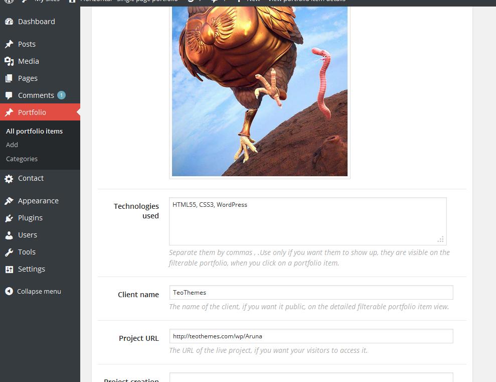 Horizonal - Single Page / One Page WordPress Theme - 8
