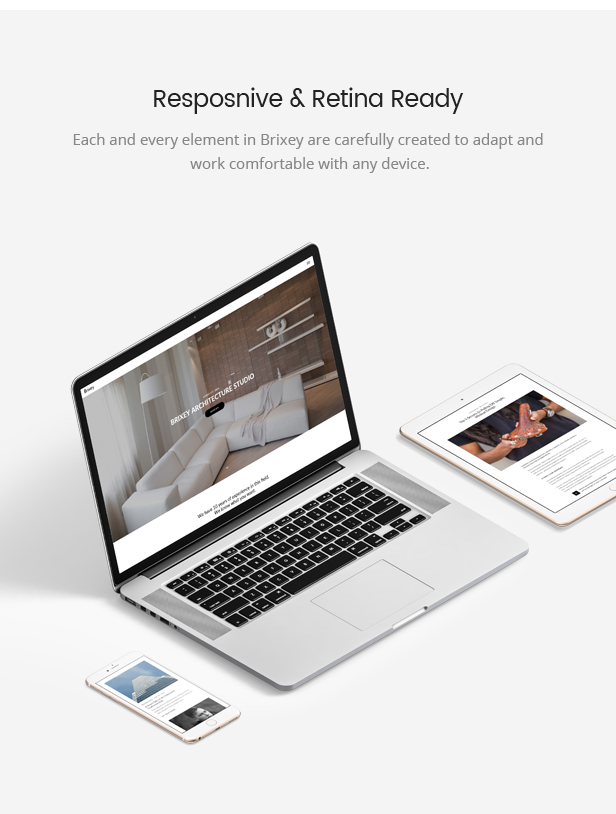 Brixey Theme Responsive
