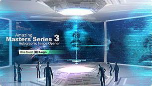 Amazing Masters Series 3 - Holographic Image Opener