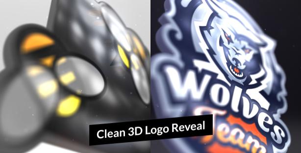 Clean-3-D-Logo-Reveal