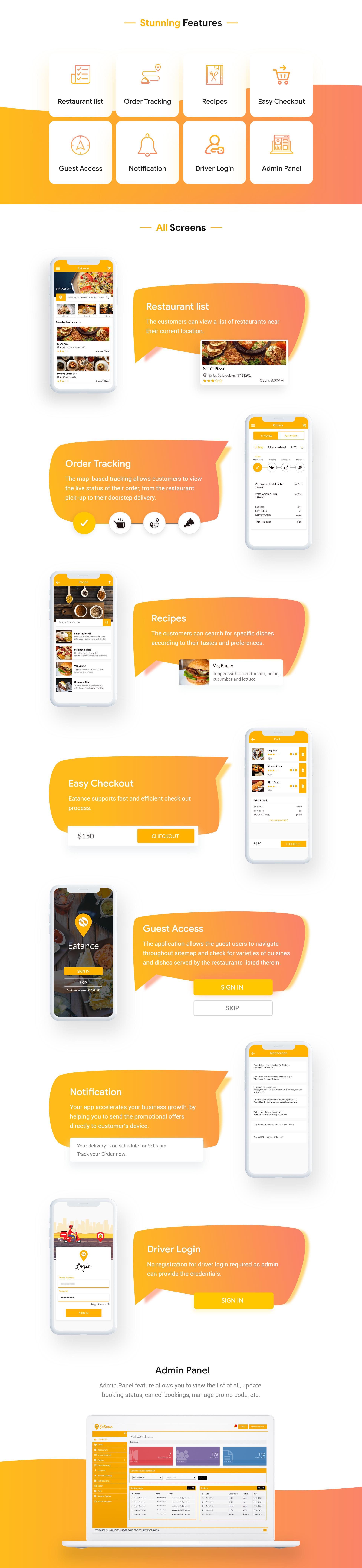 Multi Restaurant App