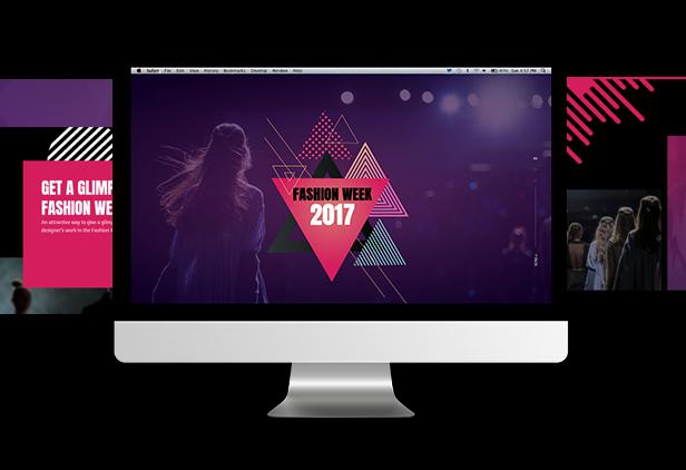 Buzzware - Fashion Week & Beauty Event HTML5 Responsive Website Template - 3