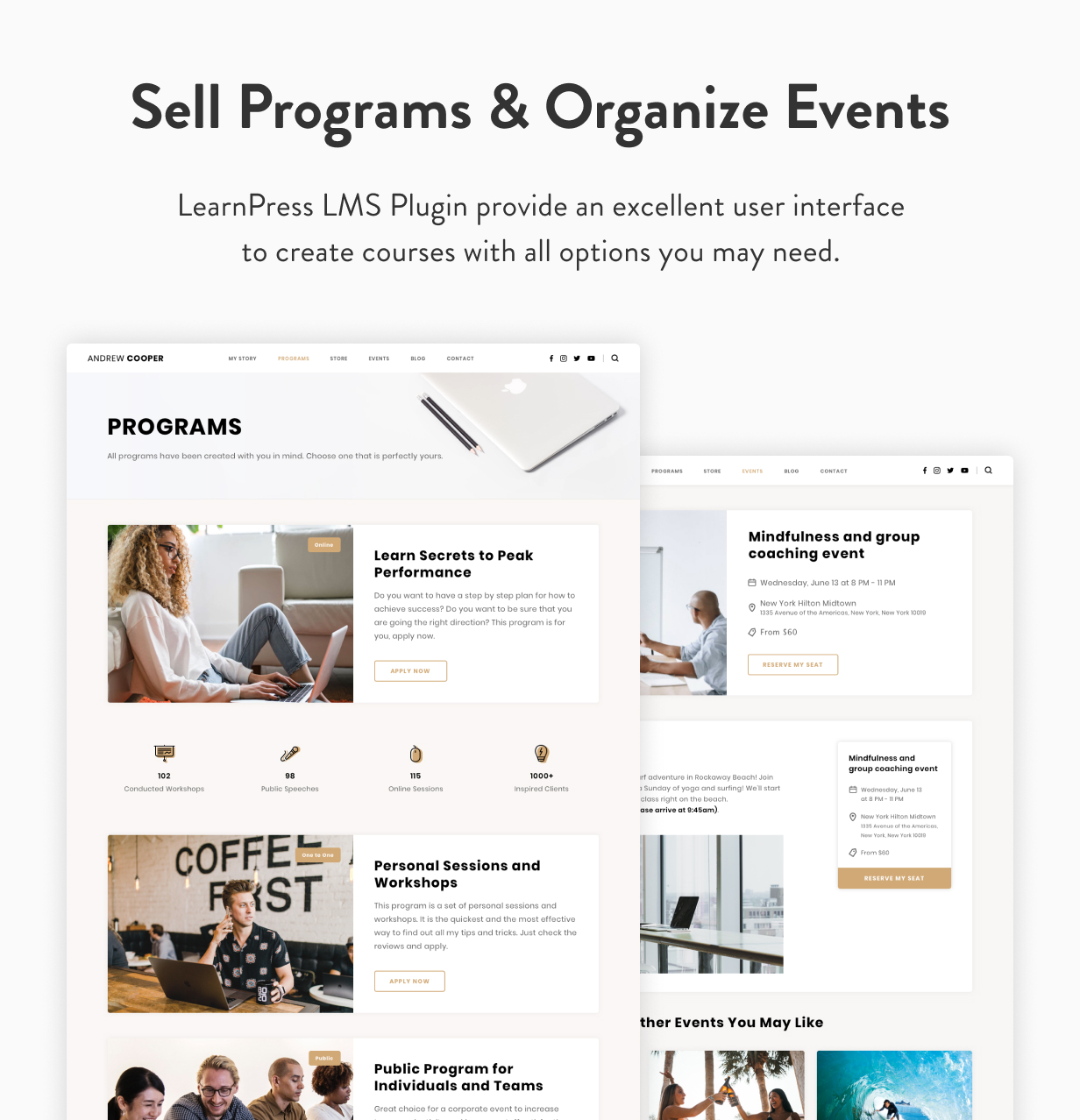 Leadership — Coach WordPress Theme - 11