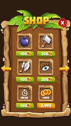 Stone Cartoon Style GUI Pack - 1